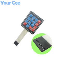 Buy 2 pcs Matrix Array 4x4 16 Key Membrane Switch Keypad Keyboard Control Panel Microprocessor Arduino for $1.20 in AliExpress store