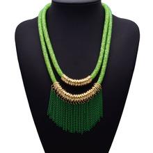 New European Women Hotsale Brand Double layer Necklace Pendants Crystal Gem For Women Flower Wholesale Hotsale