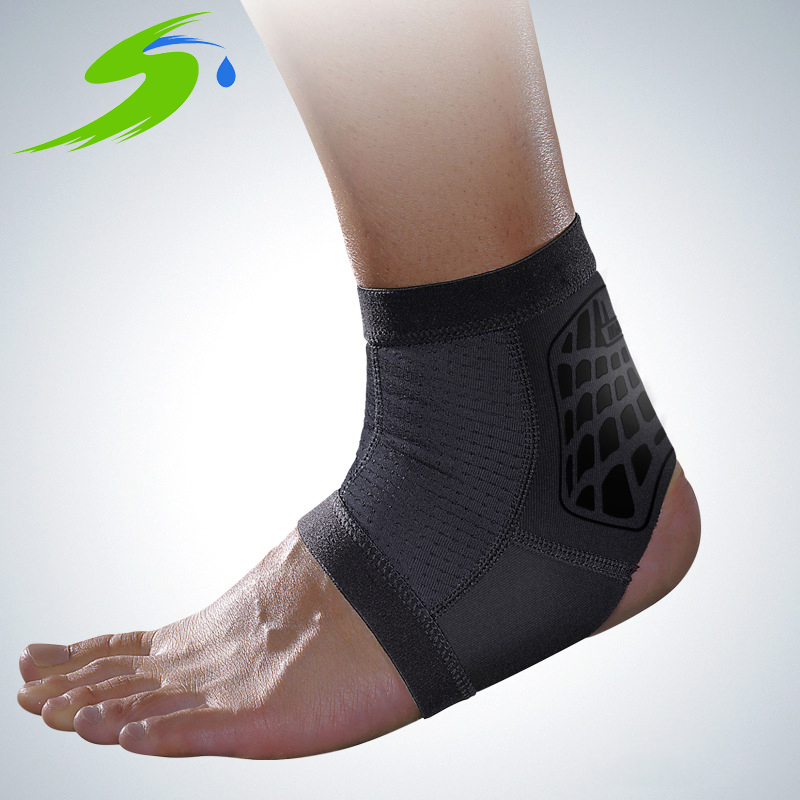 Sports Ankle Support Ankle Pads Elastic Brace Guard Foot Ankles Protector Wrap For Bicycle Football Taekwondo Basketball Sb018(China (Mainland))