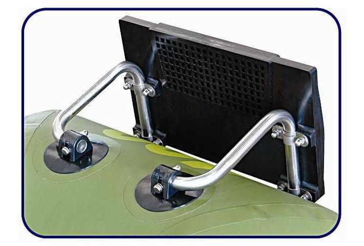 приспособление для мотора на лодку надувную лодку