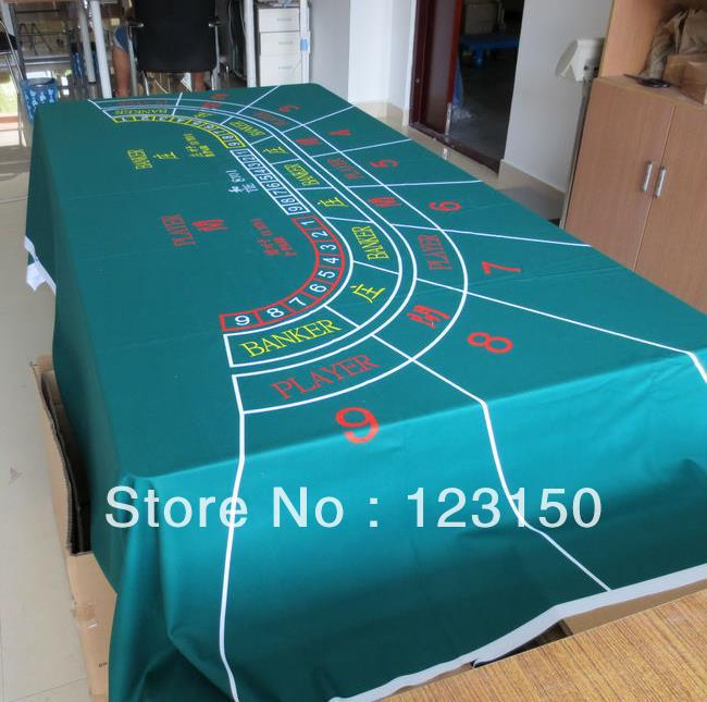WP 011 Professional Water Resistant Poker Table Cloth, Casino Layout Game  Cloth 1PC(