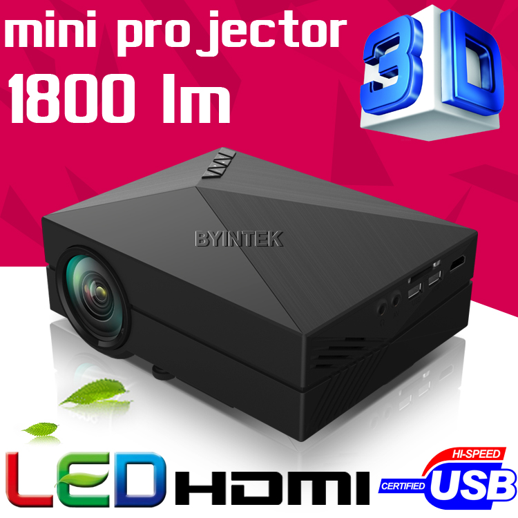 2016 Gm60 uc40 Home Theater HD 1080P portable Video LCD VGA HDMI Cinema USB Home Theater 3D mini LED Projector Proyector Beamer