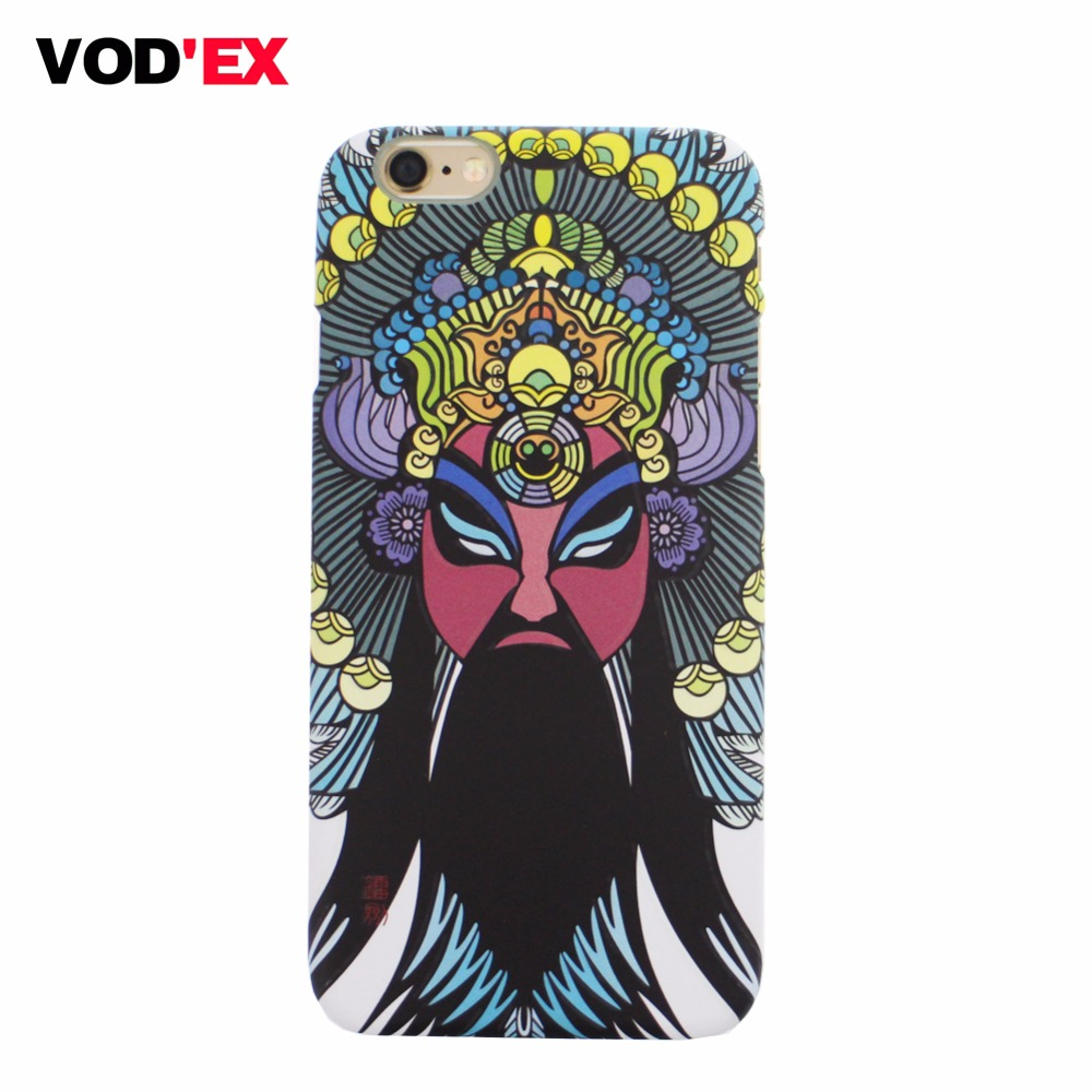 VODEX Chinese style Beijing opera cell phone 5 6 Plus case Actress Avatar Chinese Art Phone case For iphone 6s case 4.7 inch(China (Mainland))
