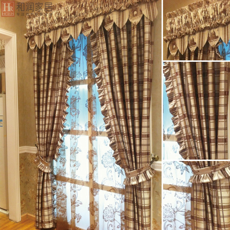 Country Window Treatments For Living Room