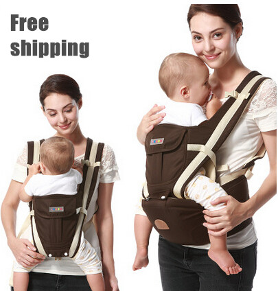 0-36 Months Breathable Multifunctional Front Facing Baby Carrier Infant Comfortable Sling Backpack Pouch Wrap Baby Kangaroo<br><br>Aliexpress