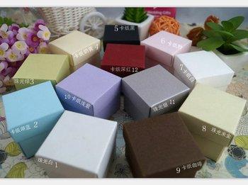 GAGA ! free shipping plain paper gift box , chocolate boxes ,wedding favour box , 200 pcs/lot , 12 colour for choose , CH100