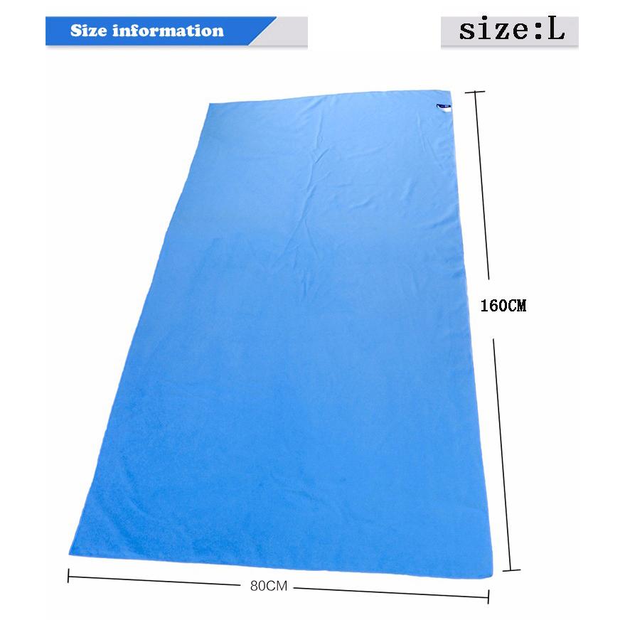 11 Colors 80cmx160cm 30*75cm 75*135 ZiRou Microfiber Beach towel Drying Travel Sports Swiming Bath body Towel Yoga Mat Drape(China (Mainland))
