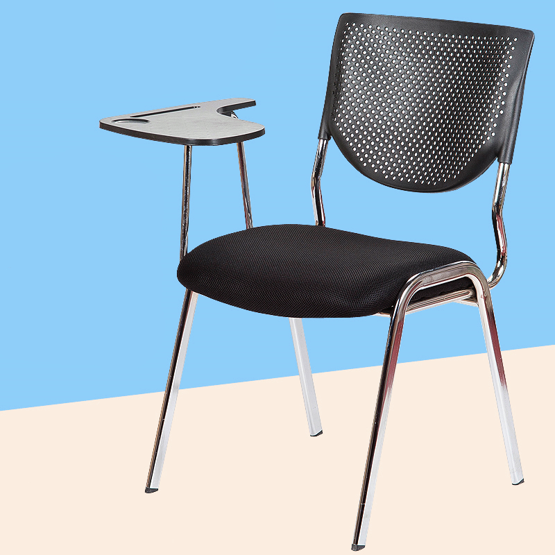 2pcs/lot Simple Modern Office Chair With Writing Board Conference Meeting Chair Student Study Desk Chair Office Computer Chair(China (Mainland))