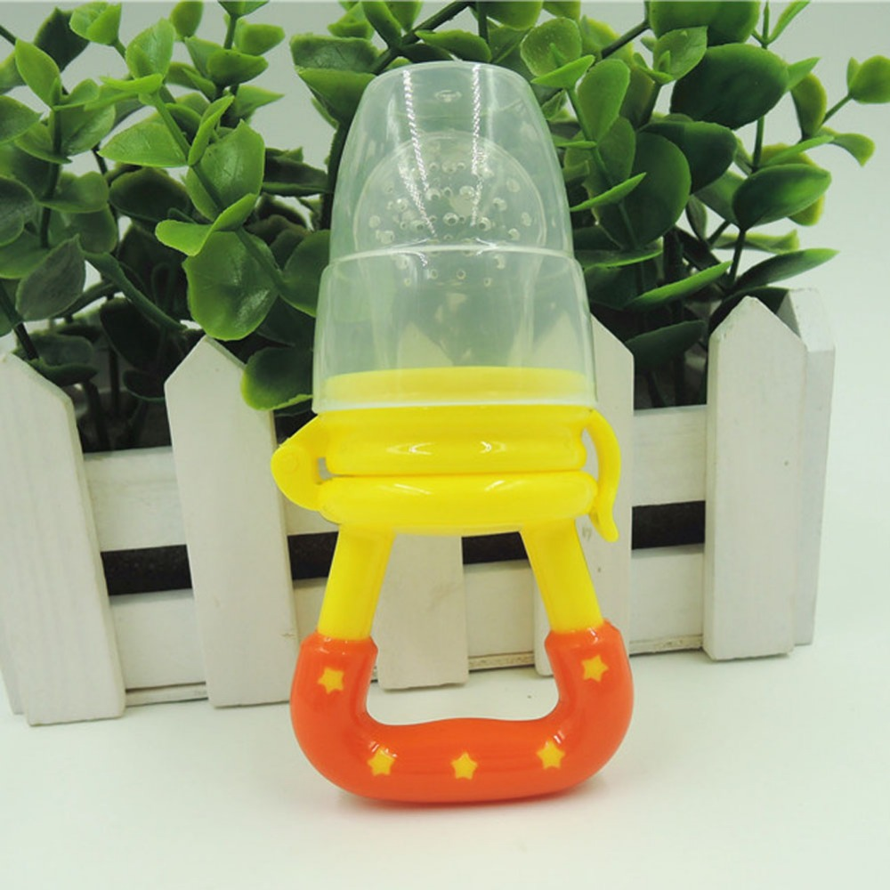 Baby Infant Food Nipple Feeder Silicone Pacifier Fruits Feeding Tool Supplies VCH19 P0.5