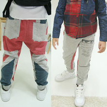 Hot Autumn Fashion Infant Baby Boy Sport Harem Pants Cotton Casual Long Pants Trousers(China (Mainland))