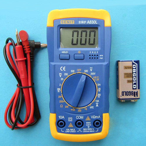 Specials only 23 yuan a digital multimeter multimeter 830L genuine big promotion(China (Mainland))