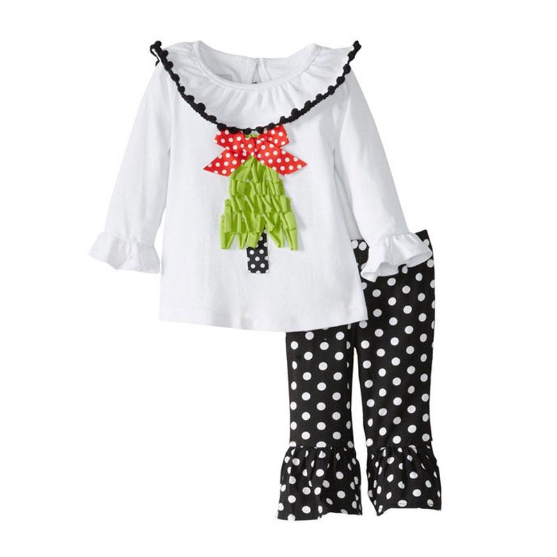 Girls Sets Autumn Girls Family Christmas Outfits 2015 Pyjamas Kids Designer Brand Clothing Set Cute Toddler Cartoon Ropa De Nino(China (Mainland))