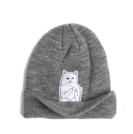 2016 Spring Women Cap Knitted Cat Hat Hip Hop Skullies & Beanies Women Beanies Men Street Dance Mask Winter Cap Unisex Gorro
