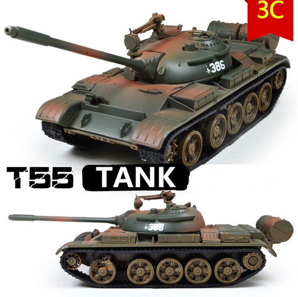 Free shipping Military Model 1:32 alloy model t55 MBT tank Metal tanks Diecast cars Good baby gifts(China (Mainland))