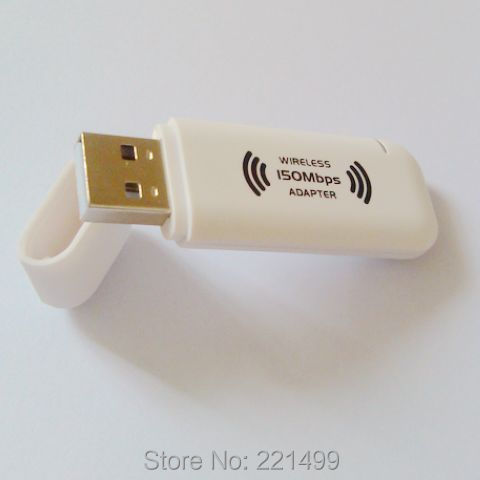 [FREE SHIPPING/EPACKET!] 150Mbps 802.11n Wireless-N Ethernet LAN USB2.0 Adapter Internet Wireless Network(China (Mainland))