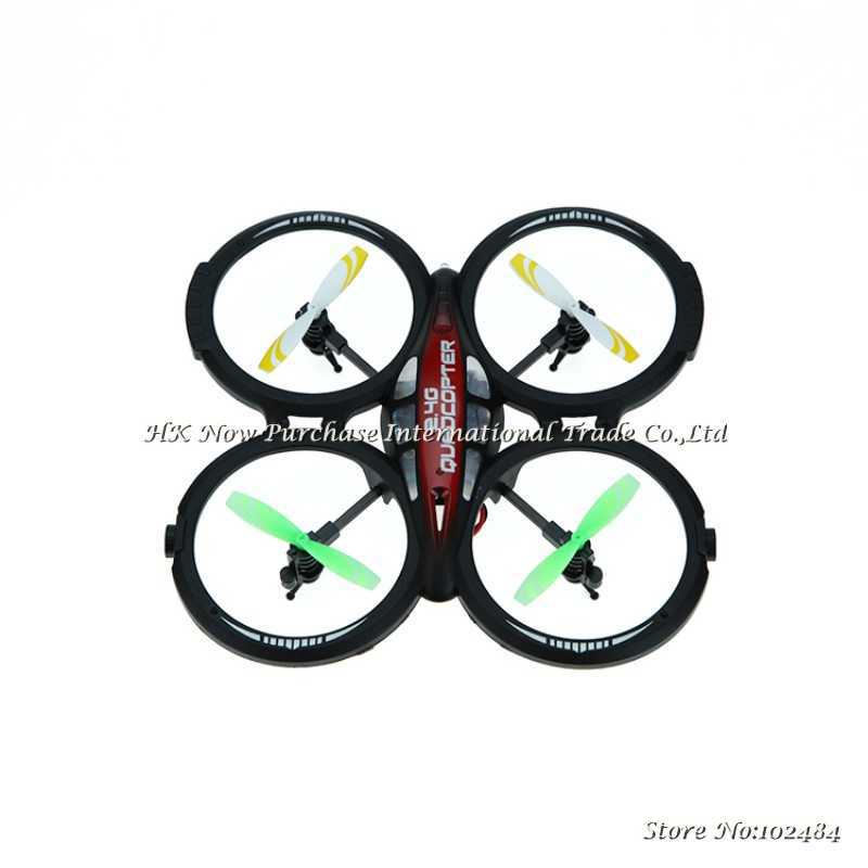 LIANSHENG LS114 4CH 2 4GHz RTF UFO Aircraft Drone Radio Control Toy RC Helicopter Quadcopter w