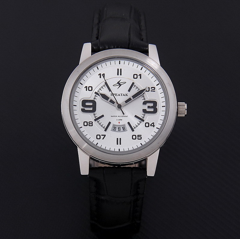 NEW relogio masculino Luxury Brand Watch Stainless Steel Case Analog Display Date Men's Quartz Watch Casual Leather watch