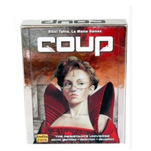 Coup Reformation Board Game For Party/Family ,English And Chinese Edition Easy To Play Free Shipping(China (Mainland))