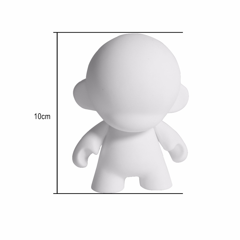 2016 New Product Hot Selling Loot Crate Exclusive Munny DIY PVC Figures Vinyl Art Toy Custom New Kid Robot Hot Toys One Piece(China (Mainland))