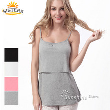 Buy Maternity Tank Tops Breastfeeding Undershirt Dresses Clothes Pregnant Women Maternity Tees Clothing Nursing Camis for $7.69 in AliExpress store