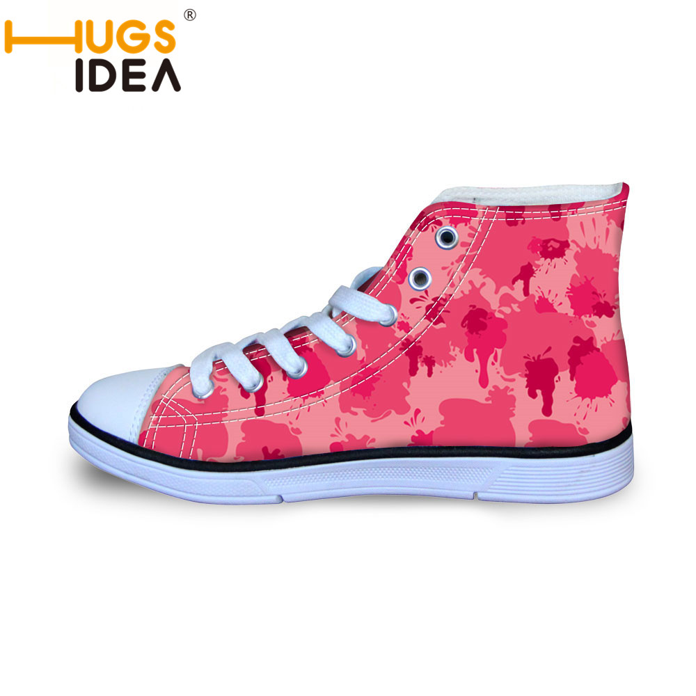 2016 New Children High-Top Canvas Shoes Esgidiau Plant  Hot Game Role Printing Round-toe Flat Shoe Unisex Walking Casual Shoes  <br><br>Aliexpress