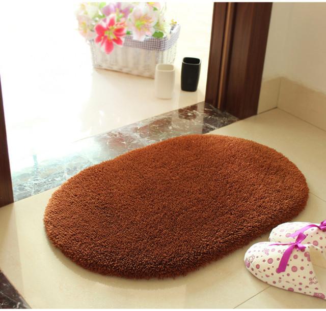 Hoogwaardige 50*80 ovale mat in badkamer mat woonkamer slaapkamer mat ...