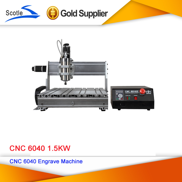 The Most Senior 220V CNC Router 6040 CNC 60401.5KW Engraving Machine CNC Cutting Machine Carving Drilling Milling Machine(China (Mainland))
