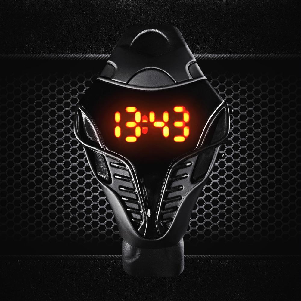 Мужские  светодиодные часы «Iron Cobra». Купить, Цена, Бесплатная доставка!