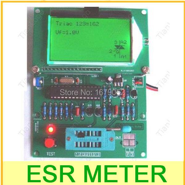 Gm328 транзистор тестер / соэ