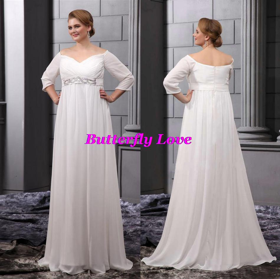 Cheap 2014 fall winter 2015 wedding dress discount for Cheap chiffon wedding dresses