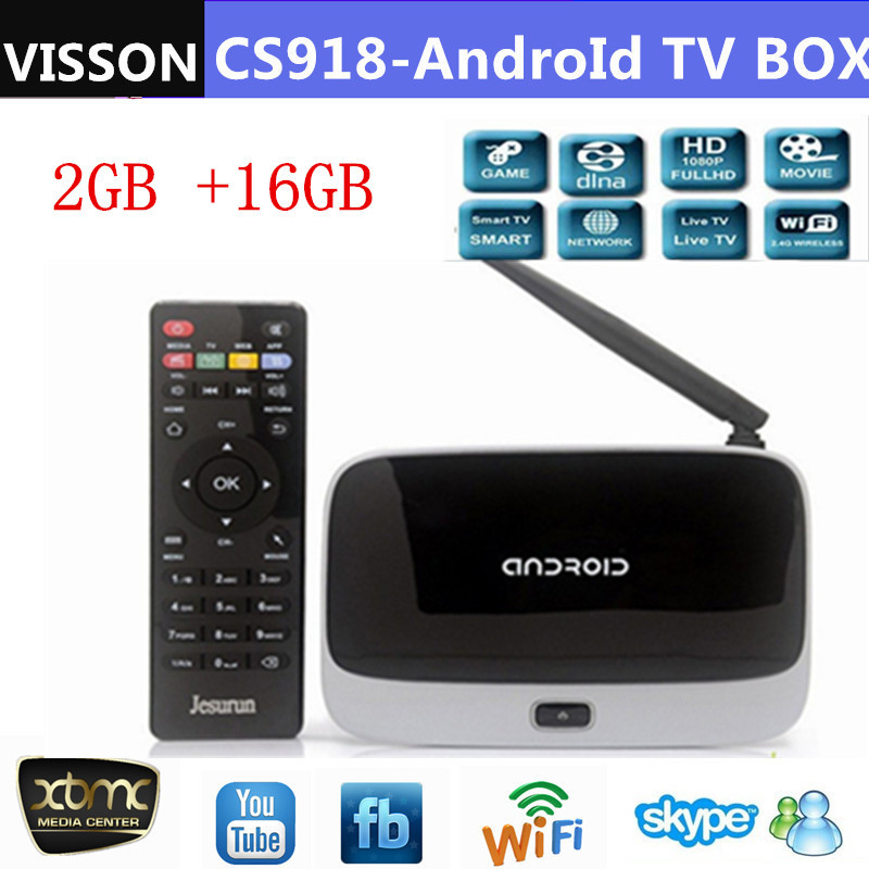 CS918 Plus 16GB versions XBMC fully loaded Q7 Android tv box Quad Core MK888 Android 4.2 RK3188 Cortex-A9 Smart HDMI Player(China (Mainland))