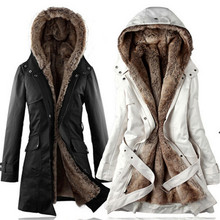 Large size Cashmere cotton padded Women winter jacket thick coat long down coats Hooded female parka women winter clothing TT158