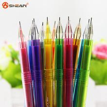 12 pcs/lot New Cute Cartoon Colorful Gel Pen Set Kawaii Korean Stationery Creative Gift School Supplies colored gel pens