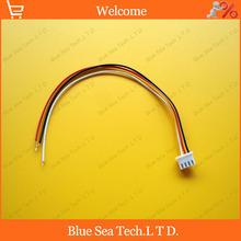 20 unids 4 Pin 2.54 mm conector XH-4P solo enchufe con 20 cm cable de electrónica modelo / automóvil / PCB ect. envío gratis