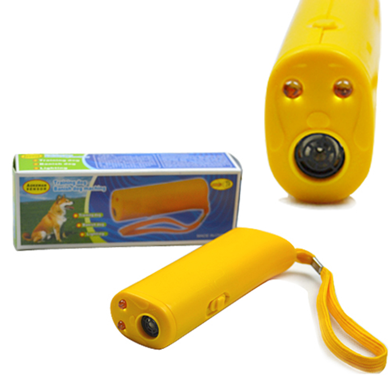 Ultrasonic Dog Repeller Training Device Trainer 3 in 1(China (Mainland))