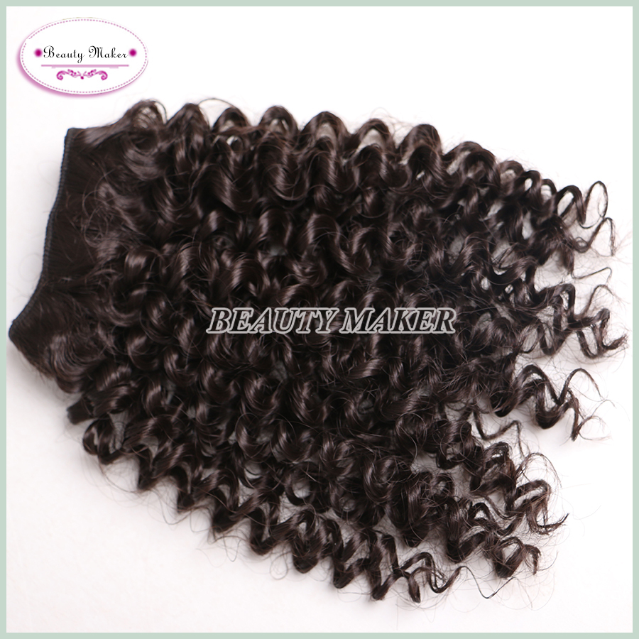 Romance Afro Kinky Curly Hair Weave Synthetic Fashion Bebe Curl Best Density Hair Extension 4pcs/pack 2packs/lot Free Shipping(China (Mainland))