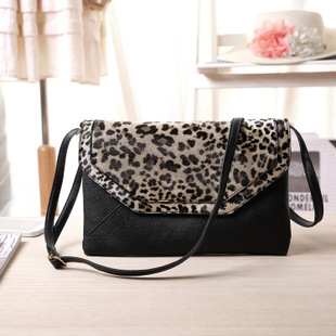 Free shipping 2015 women envelope bag clutch evening leopard high quality hot sale with lower price fashion style(China (Mainland))