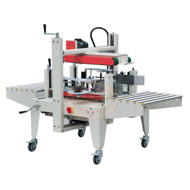 Automatic carton sealing machine top and bottom case sealer BOPP tape sticking packer industrial packaging equipment tools