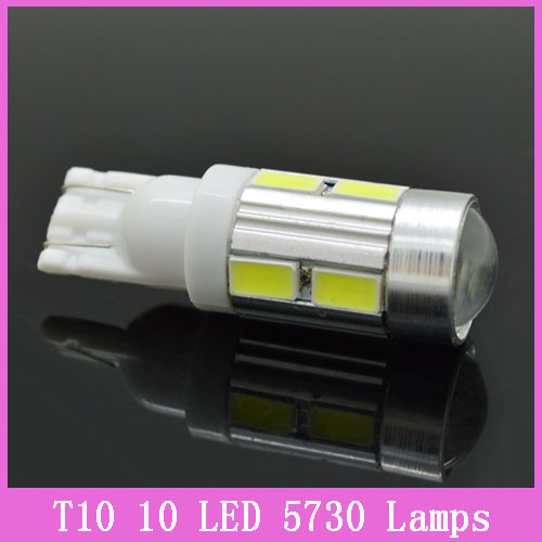 1PC lot 2014 NEWS Free shipping Car Auto LED T10 194 W5W Canbus 10 smd 5630