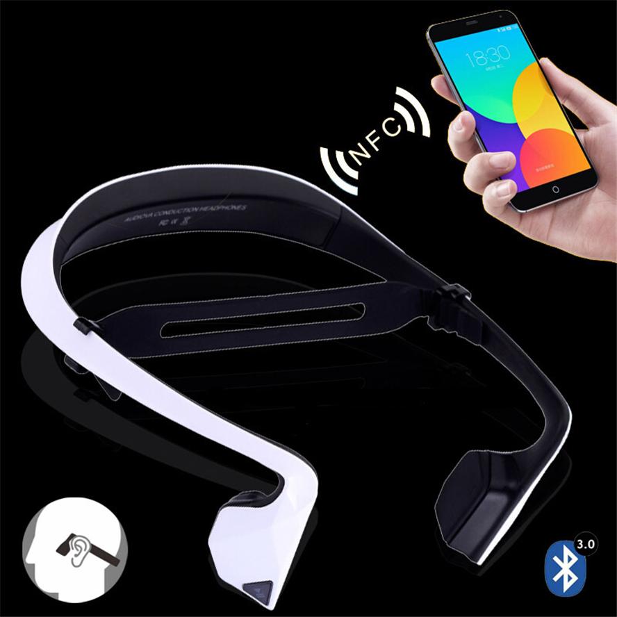 Bone Conduction Sport Wireless Bluetooth 4 0 Earphone Headphone Audio For iPhone Xiaomi Sony Headset Phone
