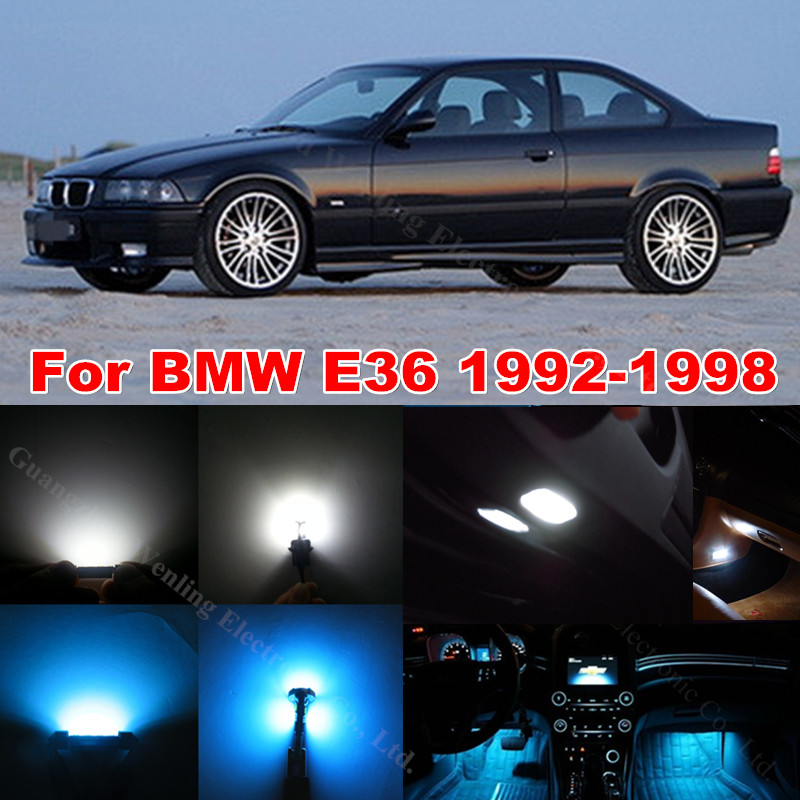 popular bmw e36 interior light buy cheap bmw e36 interior light lots from china bmw e36 interior. Black Bedroom Furniture Sets. Home Design Ideas