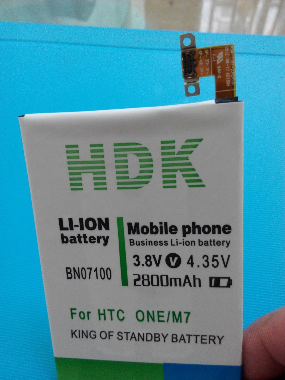 New Replacement Battery 2800mAh BN07100 Phone Battery Use for HTC ONE M7 802D 802T 802W 801E 801S 801N