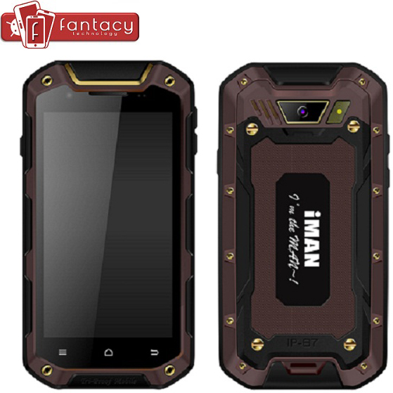 "Original IMAN I5800 MTK6582 Quad Core Waterproof Dustproof Shockproof Smartphone 4.5"" Android4.4 WCDMA 3G 8.0MP 1GB RAM 8GB ROM(China (Mainland))"