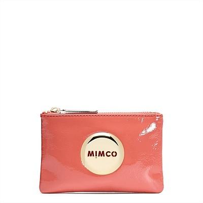 Новые приходят mimčo мим чехол цвет фламинго золотой логотип маленький мешочек