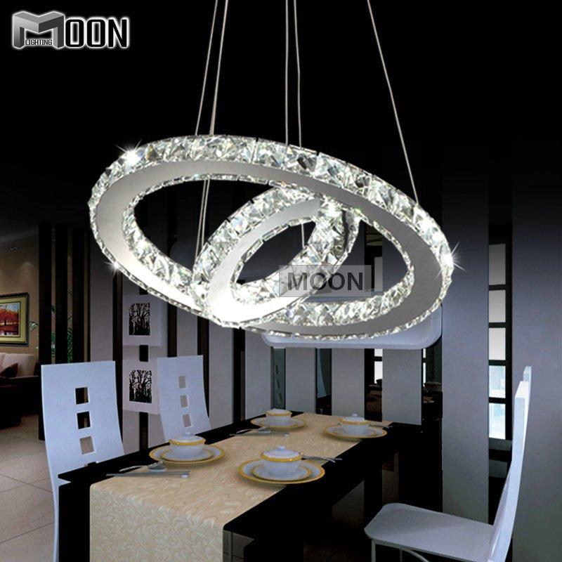 conception moderne bricolage led lustre luminaire cercle autour de 2 anneaux pour pendentif. Black Bedroom Furniture Sets. Home Design Ideas