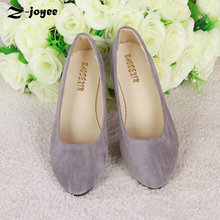 Buy Women Shoes Flats 2017 Ballet Flats Elegant Candy Color Spring Summer Shoes Slip-on Pointed Toe Casual Shoe Ladies BigSize 35-43 for $11.04 in AliExpress store