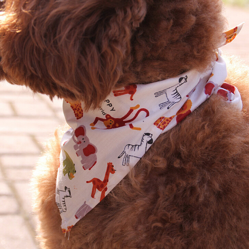 5 Colors Optional Pet Dog Scarf Collar Puppy Cat Bandana Decoration Neckerchief 60cm Dogs Scarf(China (Mainland))
