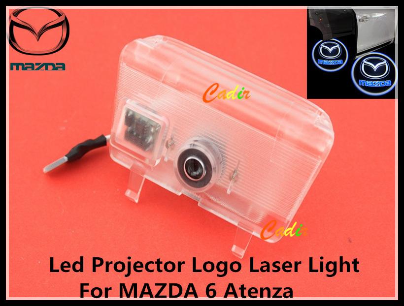 Car LED Courtesy Door Laser Projector Shadow Logo Light MAZDA 6 Atenza - Cadir store
