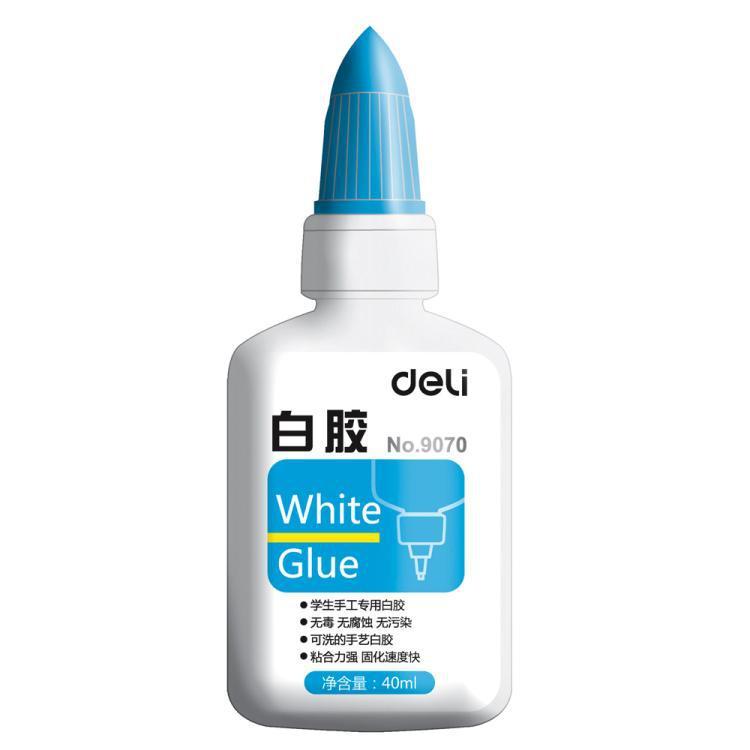 Effective  9070 white latex glue class student manual hand wash hand glue 40ml/ bottle 10 pcs/set<br><br>Aliexpress