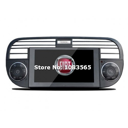 for fiat 500 2007 2013 car stereo radio dvd player gps. Black Bedroom Furniture Sets. Home Design Ideas
